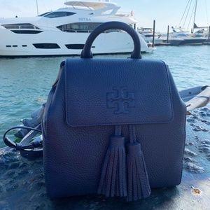 Tory Burch Thea Mini Backpack Navy